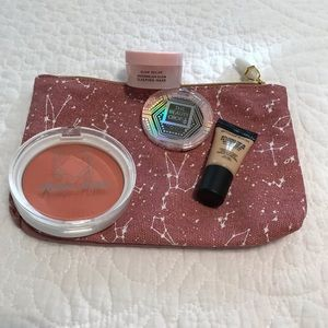 Luxury Beauty and Bag